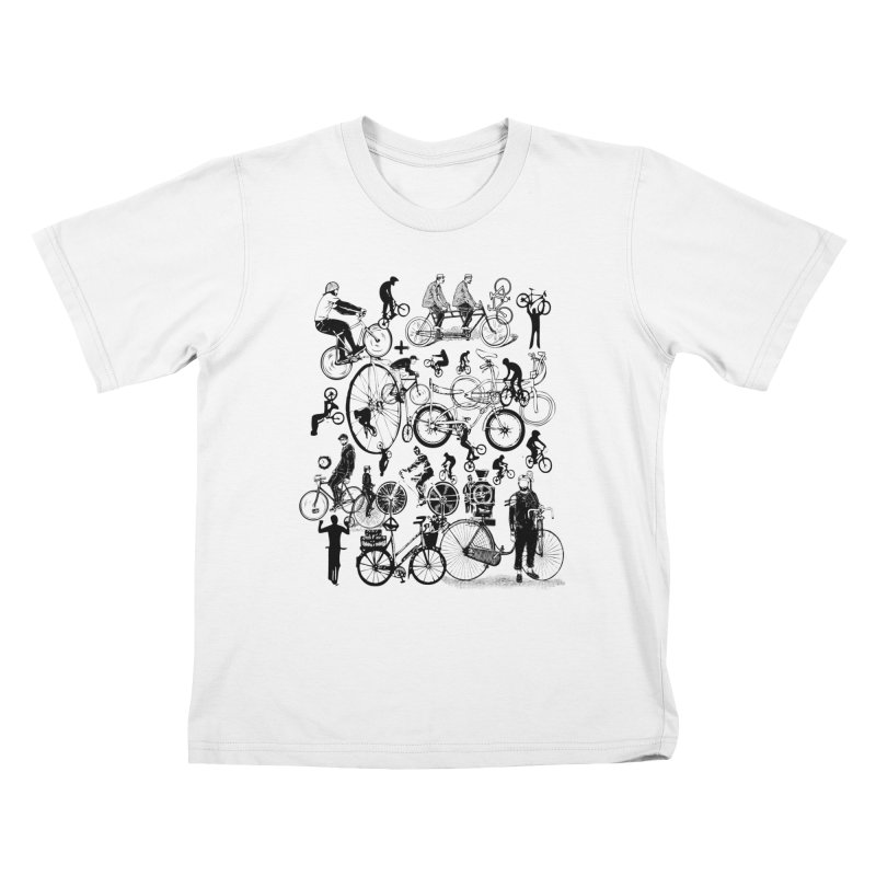 Rig in Kids T-Shirt White by Misterdressup