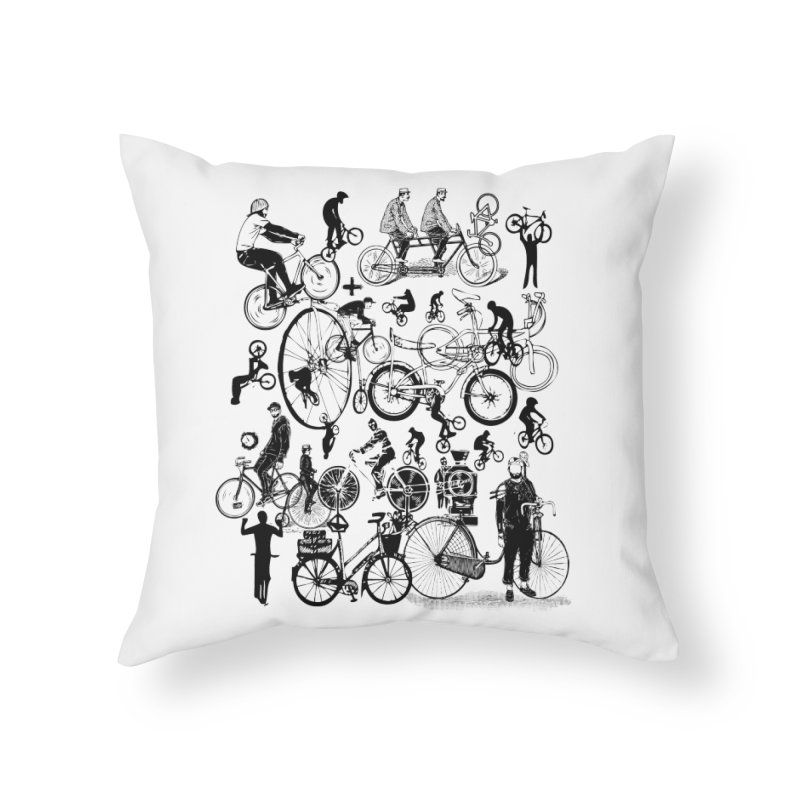 Rig Home Throw Pillow by Misterdressup