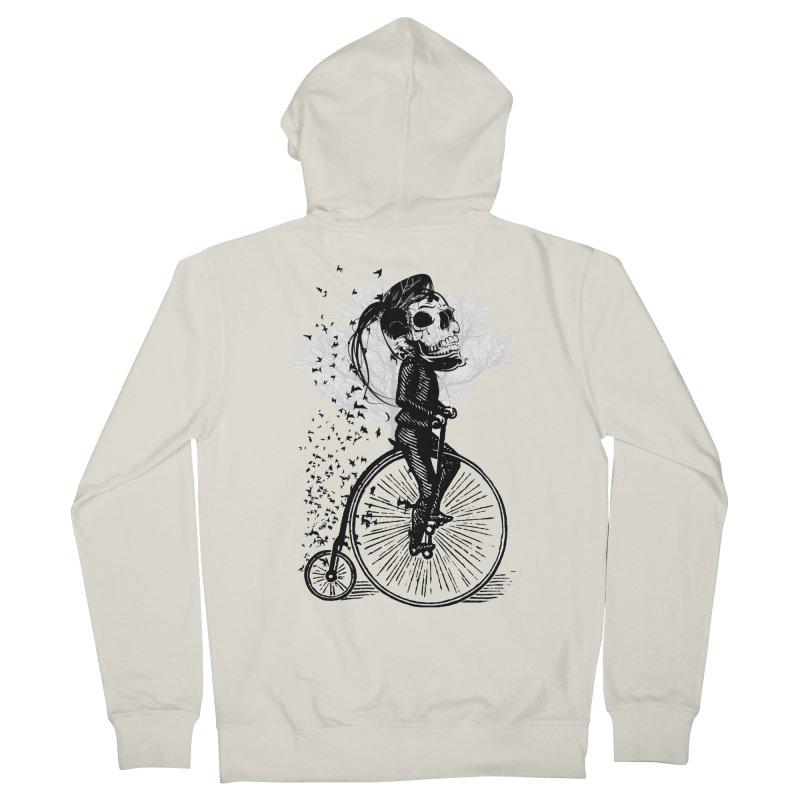 Biker Attitude Men's Zip-Up Hoody by Misterdressup