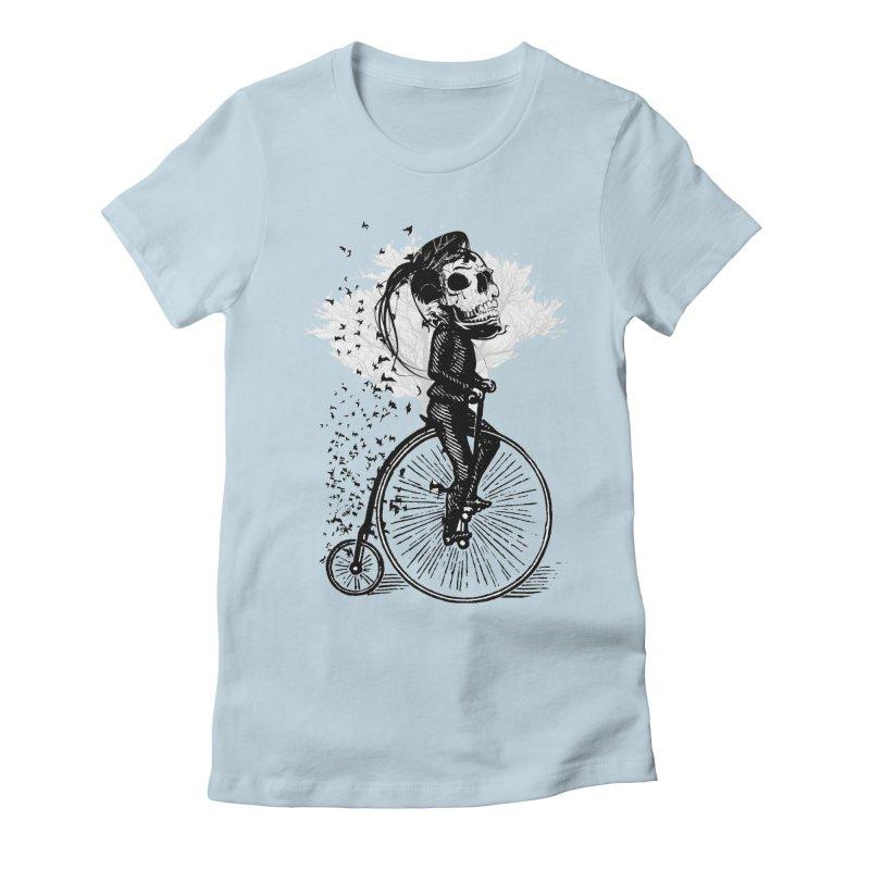 Biker Attitude Women's T-Shirt by Misterdressup