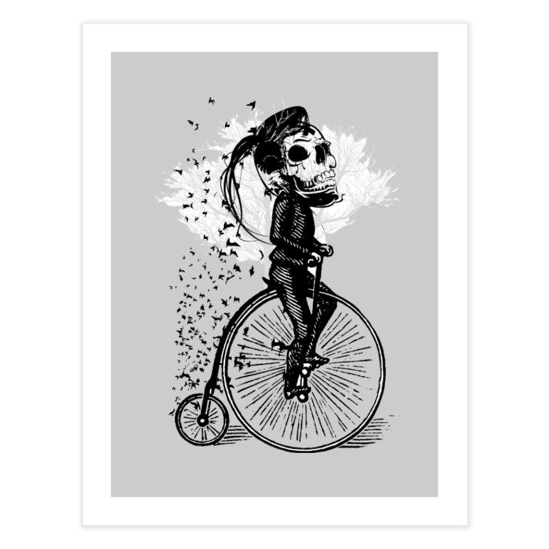Biker Attitude Home Fine Art Print by Misterdressup
