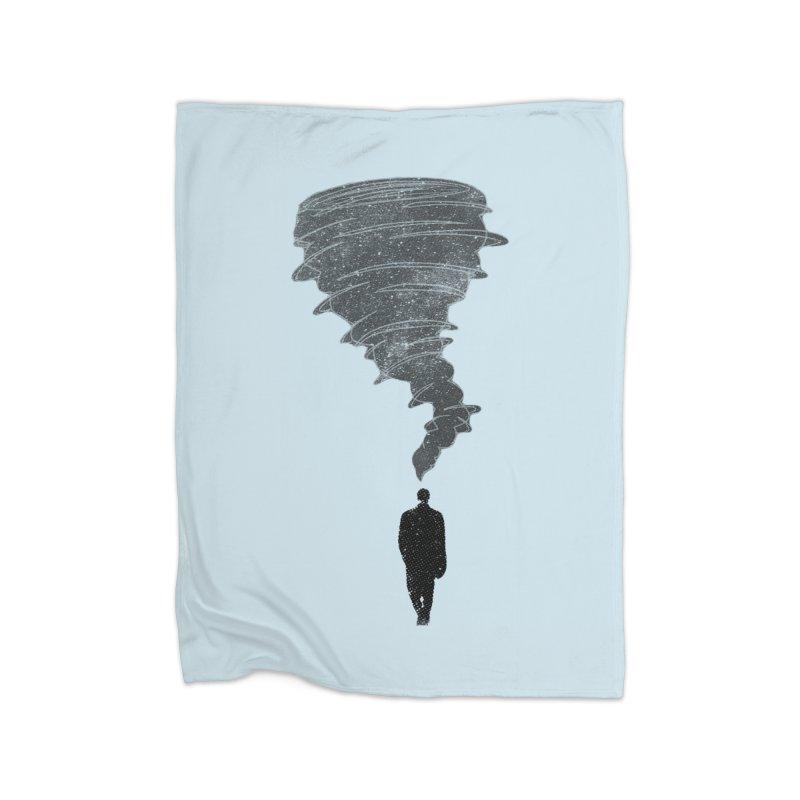 Deep Mind in Fleece Blanket Blanket by Misterdressup