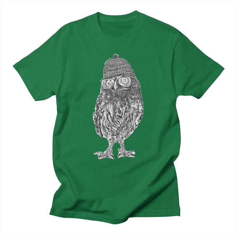 Geek Owl Men's T-Shirt by Misterdressup