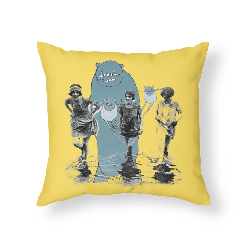 Girls Gone Wild in Throw Pillow by Misterdressup