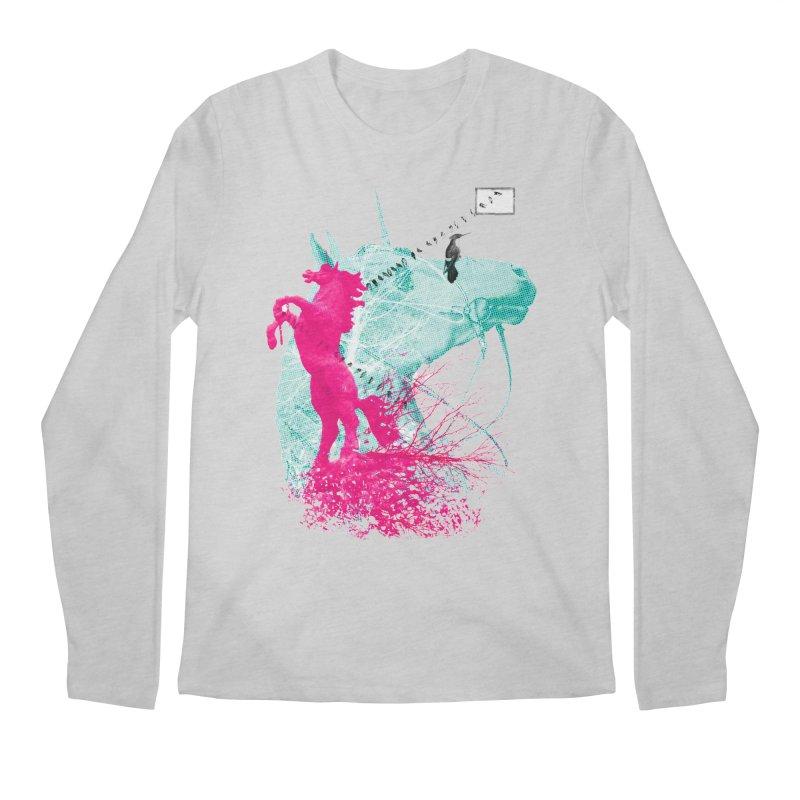 Unicorn Dream Men's Longsleeve T-Shirt by Misterdressup
