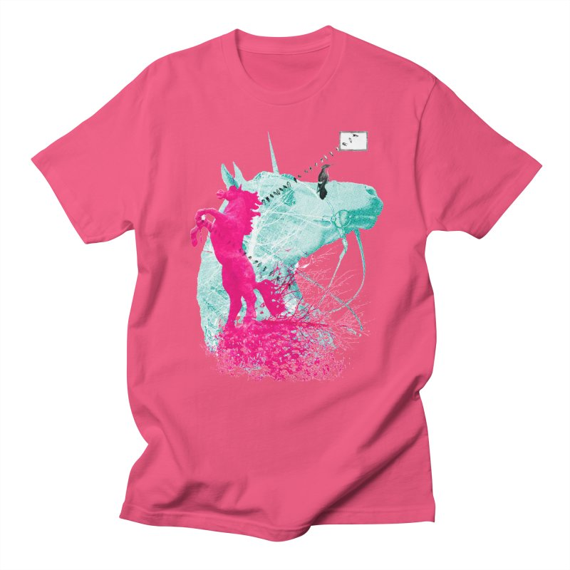 Unicorn Dream Men's T-Shirt by Misterdressup