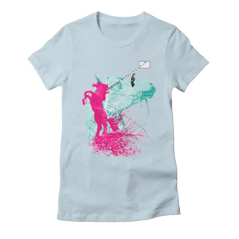 Unicorn Dream Women's T-Shirt by Misterdressup