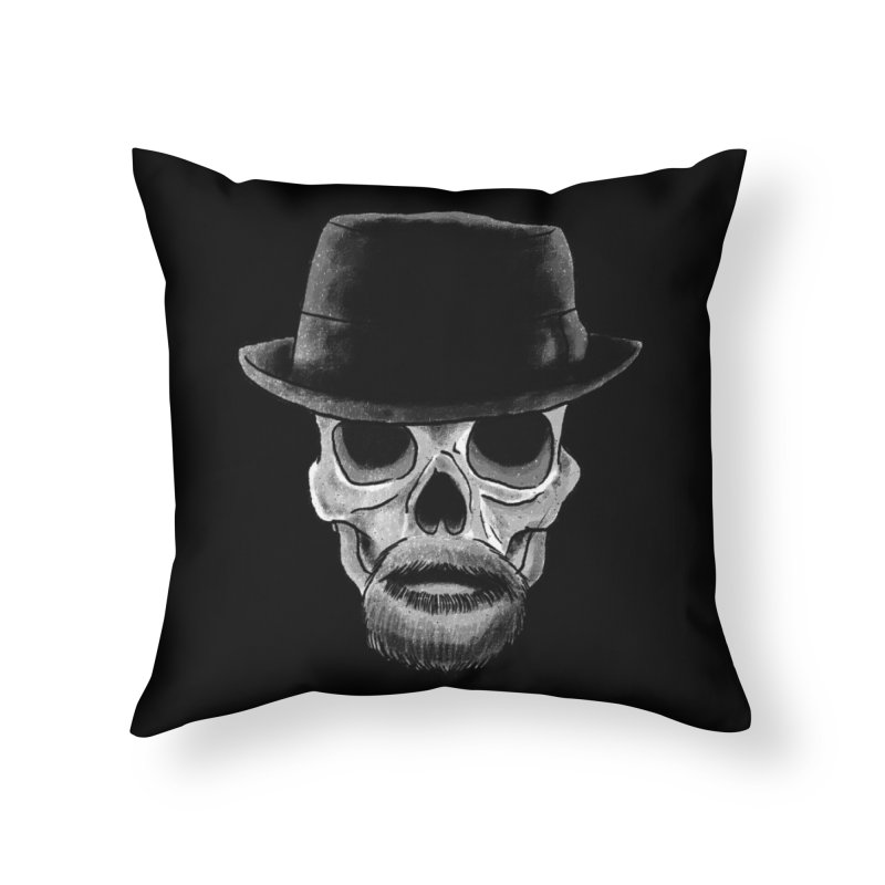 Heisenberg in Throw Pillow by Misterdressup