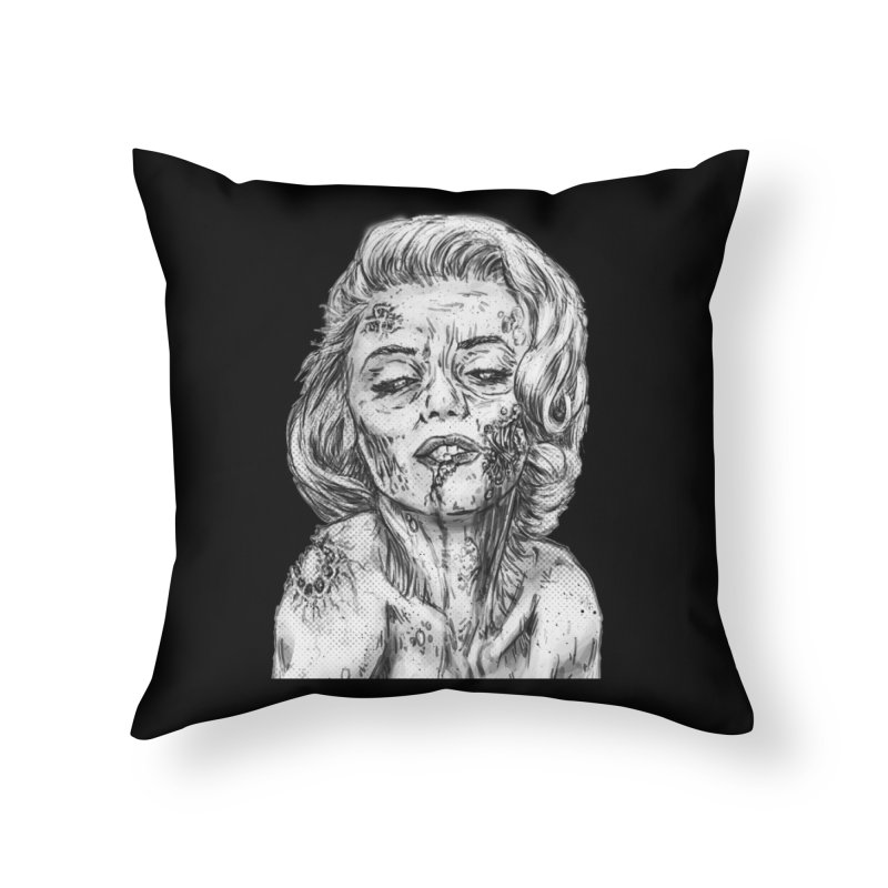 Monroe in Throw Pillow by Misterdressup