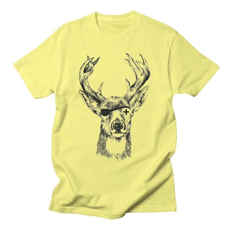 Deer Pirate Men's T-Shirt by Misterdressup
