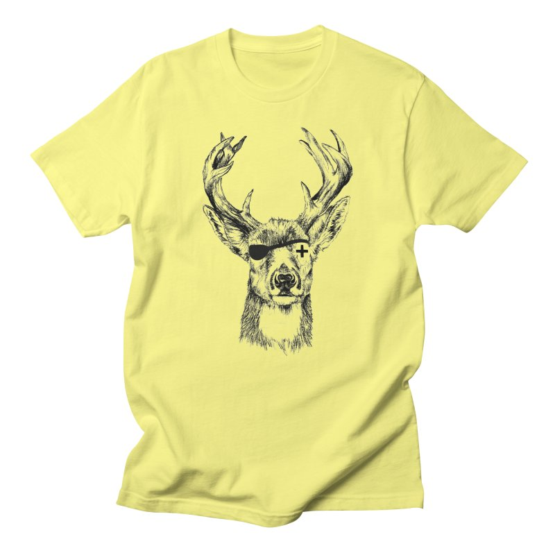 Deer Pirate Men's T-Shirt by Misterdressup