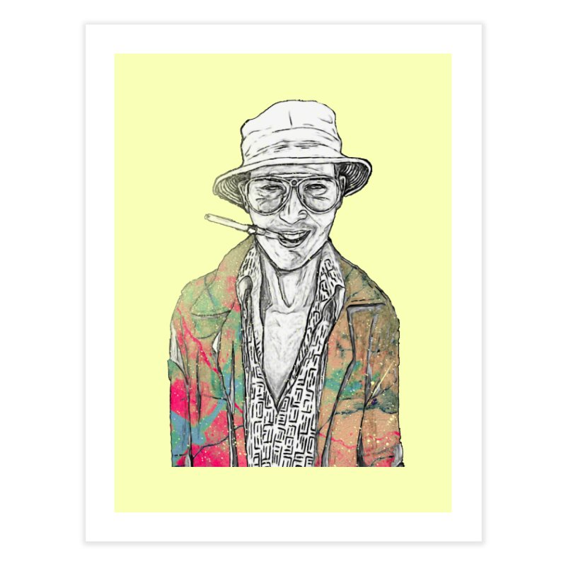 Fear and Loathing in Fine Art Print by Misterdressup