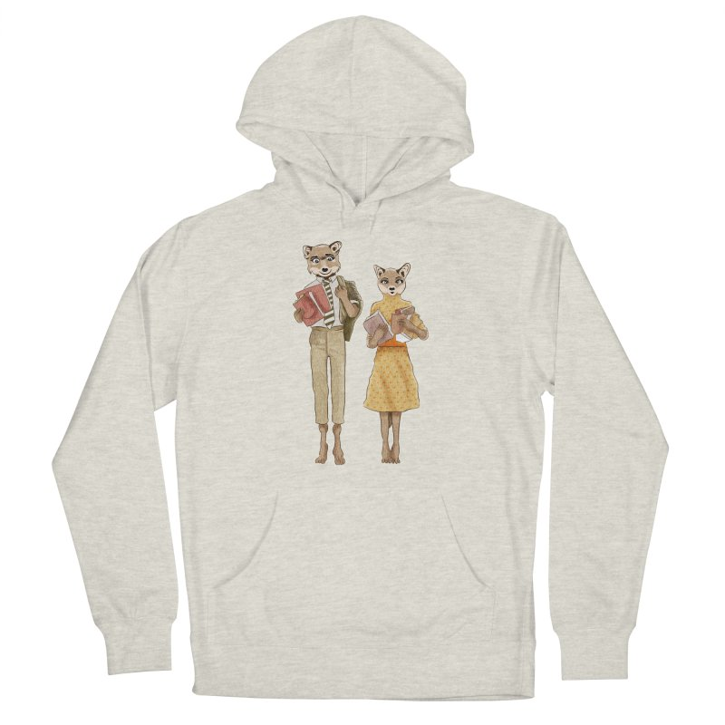 Fox Love Men's Pullover Hoody by Misterdressup