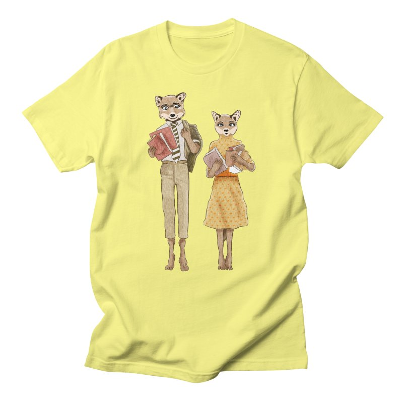 Fox Love Men's T-Shirt by Misterdressup