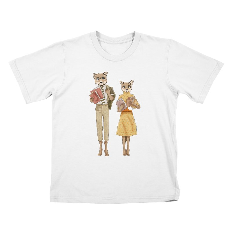 Fox Love Kids T-Shirt by Misterdressup