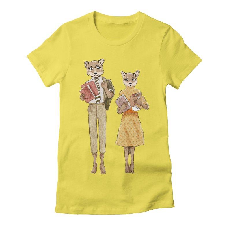 Fox Love Women's T-Shirt by Misterdressup