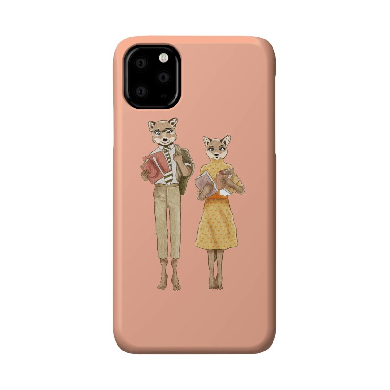 Fox Love Accessories Phone Case by Misterdressup