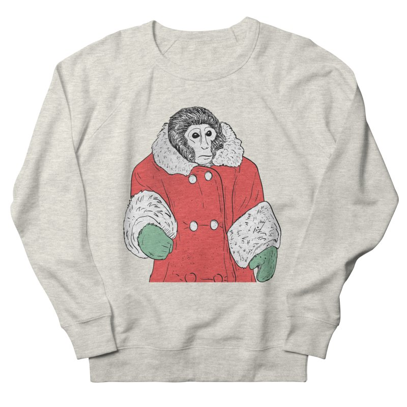 Ikea Monkey in Men's Sweatshirt Heather Oatmeal by Misterdressup