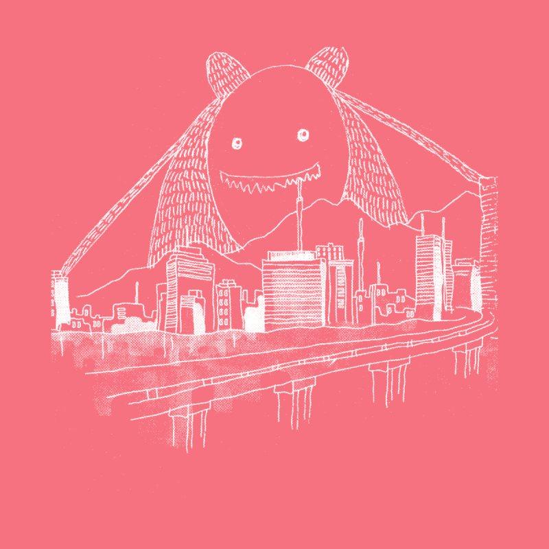 City Monster Women's Longsleeve T-Shirt by Misterdressup