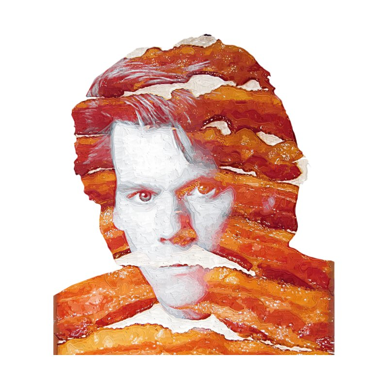 Kevin Bacon Home Throw Pillow by Misterdressup