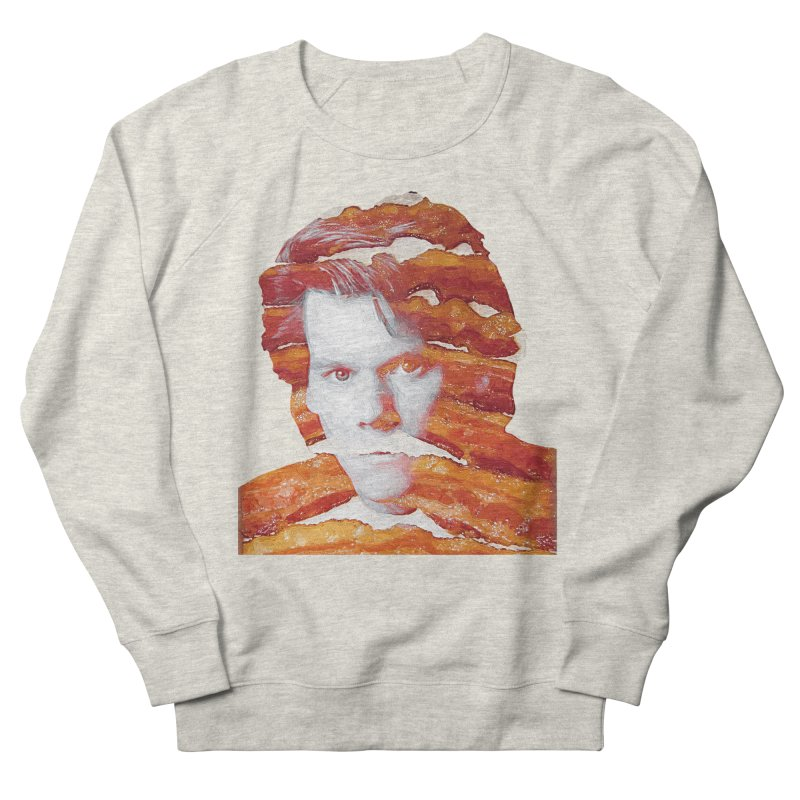 Kevin Bacon in Men's Sweatshirt Heather Oatmeal by Misterdressup