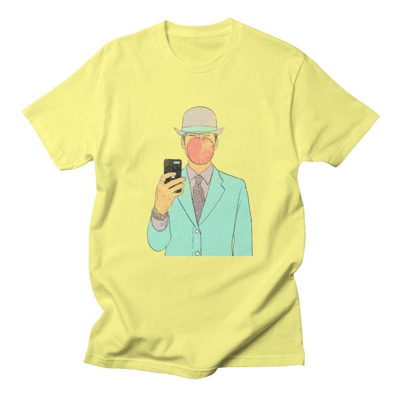 Original Selfie in Men's Regular T-Shirt Lemon by Misterdressup