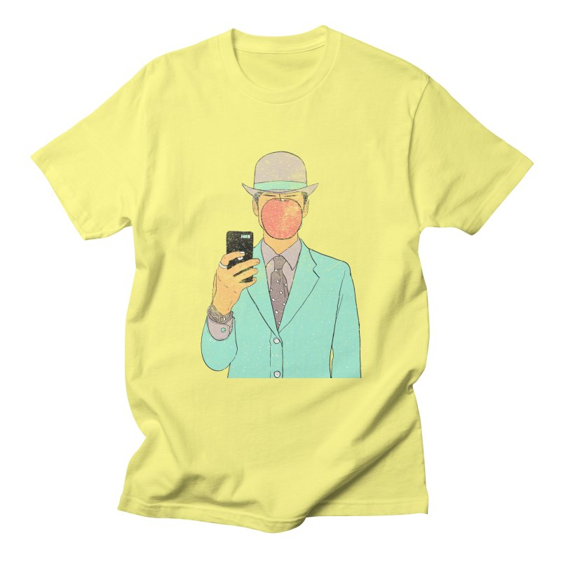 Original Selfie in Men's T-Shirt Lemon by Misterdressup