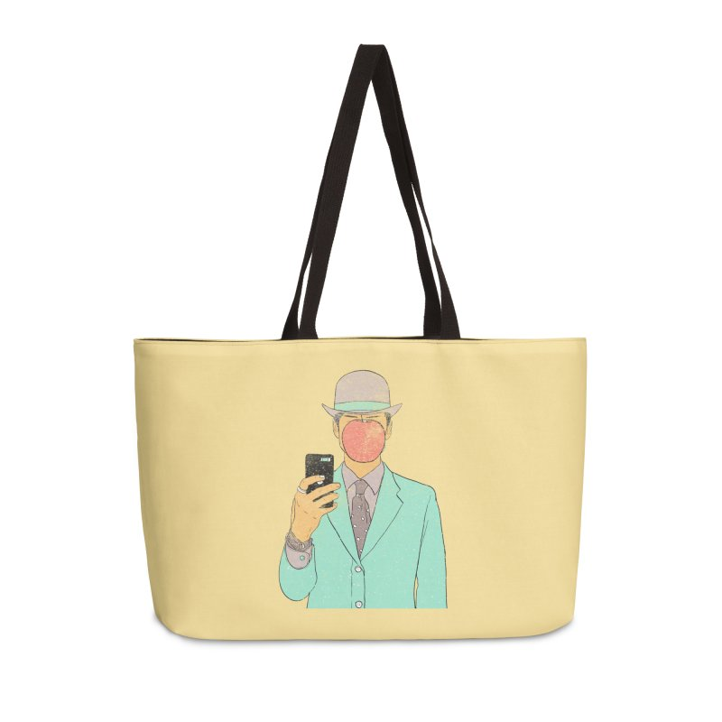 Original Selfie in Weekender Bag by Misterdressup