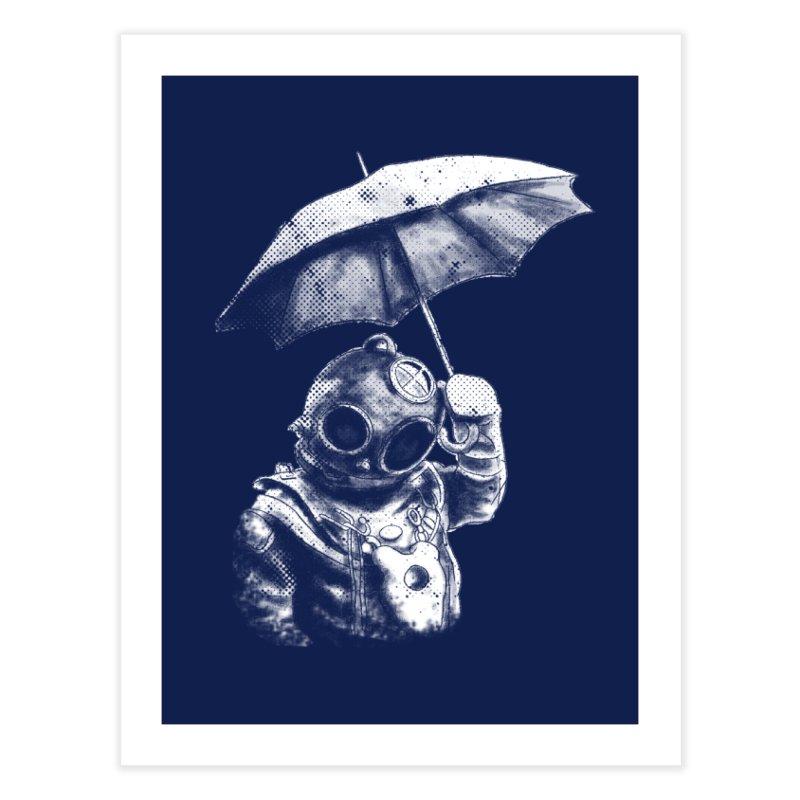 Meta Rain in Fine Art Print by Misterdressup