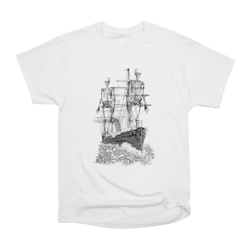 Skull Ship Men's T-Shirt by Misterdressup