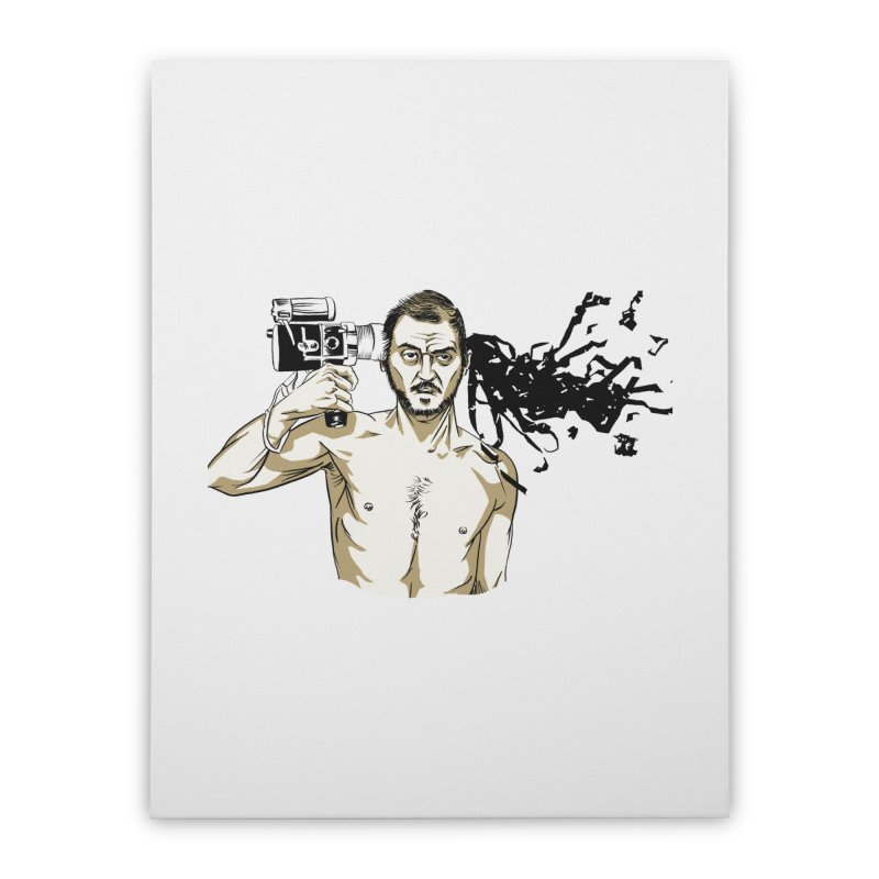 Stanley Kubrick Home Stretched Canvas by Misterdressup