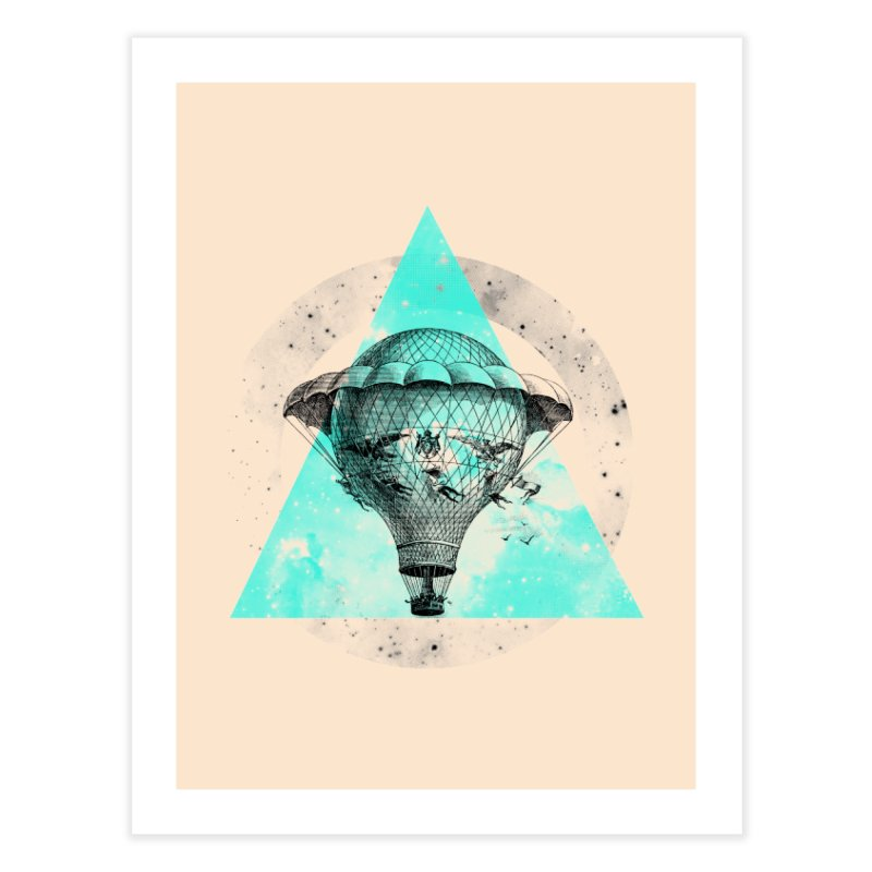 Time Travel Bundle Home Fine Art Print by Misterdressup