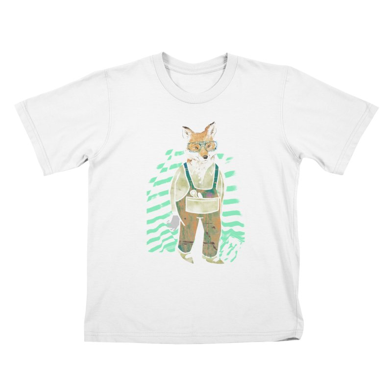 Fow Work Kids T-Shirt by Misterdressup
