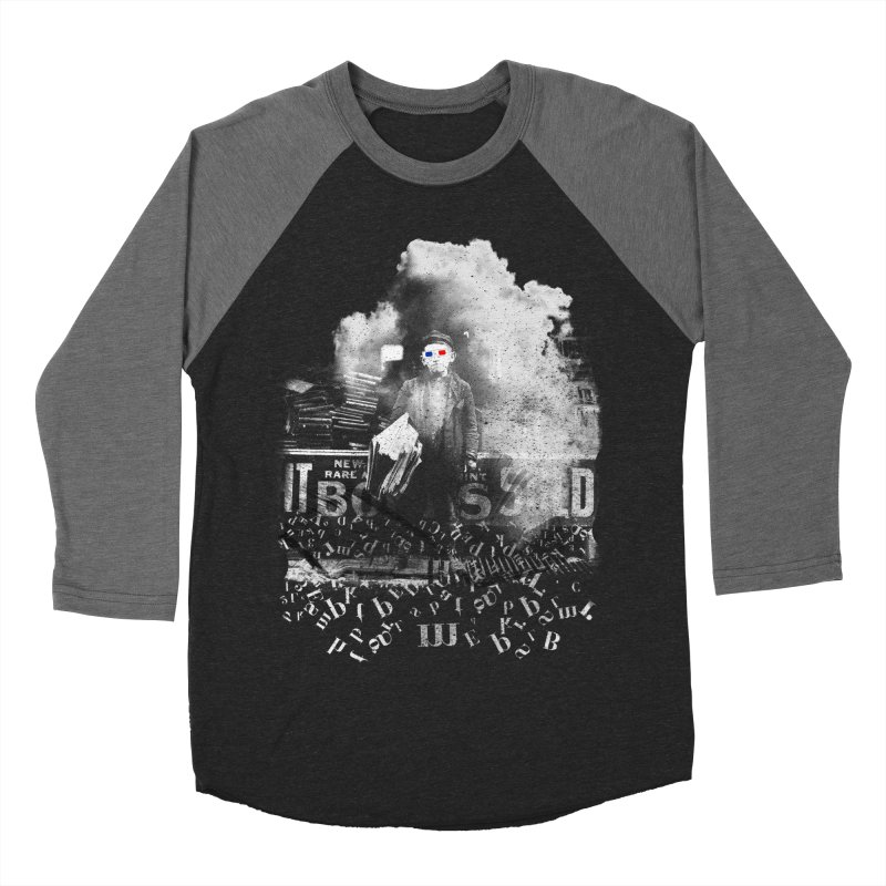 Ancient Geeks Men's Baseball Triblend Longsleeve T-Shirt by Misterdressup