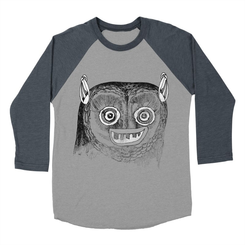 Owl you need is love! Men's Baseball Triblend Longsleeve T-Shirt by Misterdressup