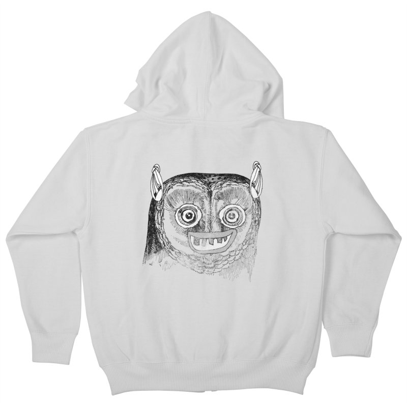 Owl you need is love! Kids Zip-Up Hoody by Misterdressup