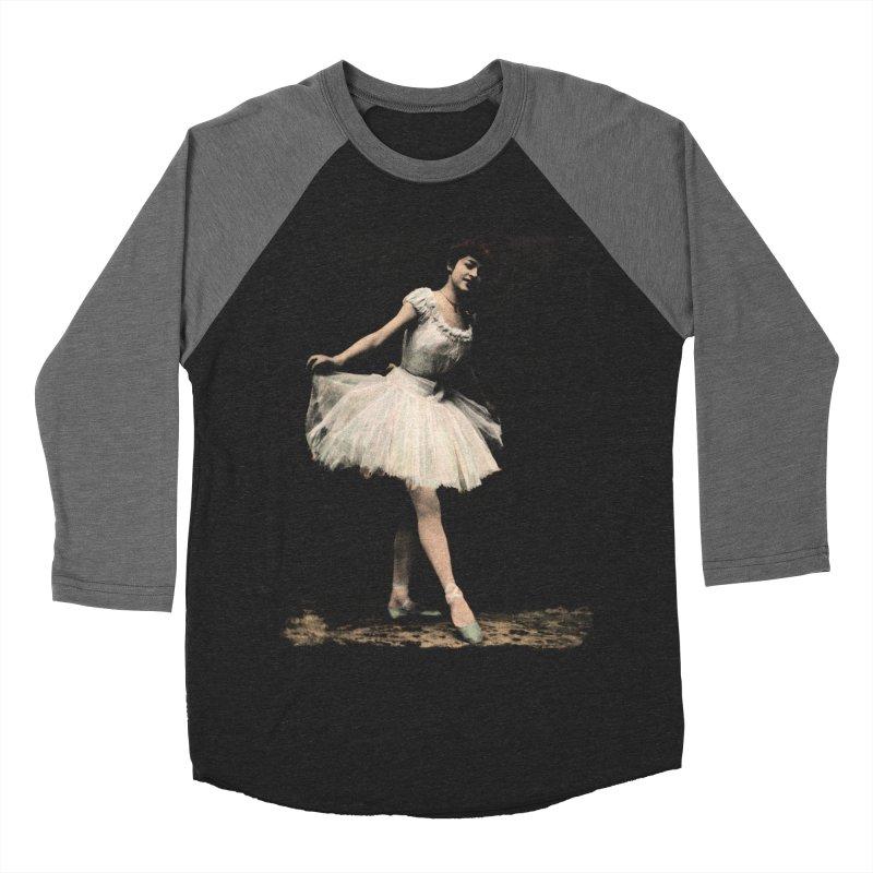 Ballerina Women's Baseball Triblend Longsleeve T-Shirt by Misterdressup
