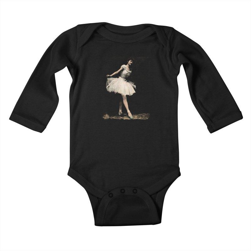 Ballerina Kids Baby Longsleeve Bodysuit by Misterdressup