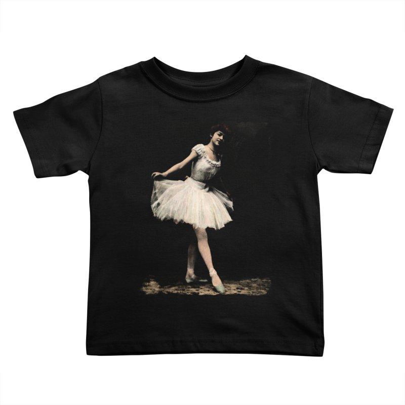 Ballerina Kids Toddler T-Shirt by Misterdressup