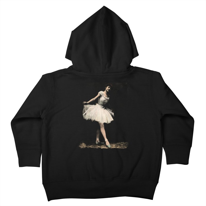 Ballerina Kids Toddler Zip-Up Hoody by Misterdressup