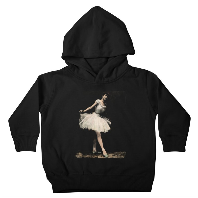 Ballerina Kids Toddler Pullover Hoody by Misterdressup