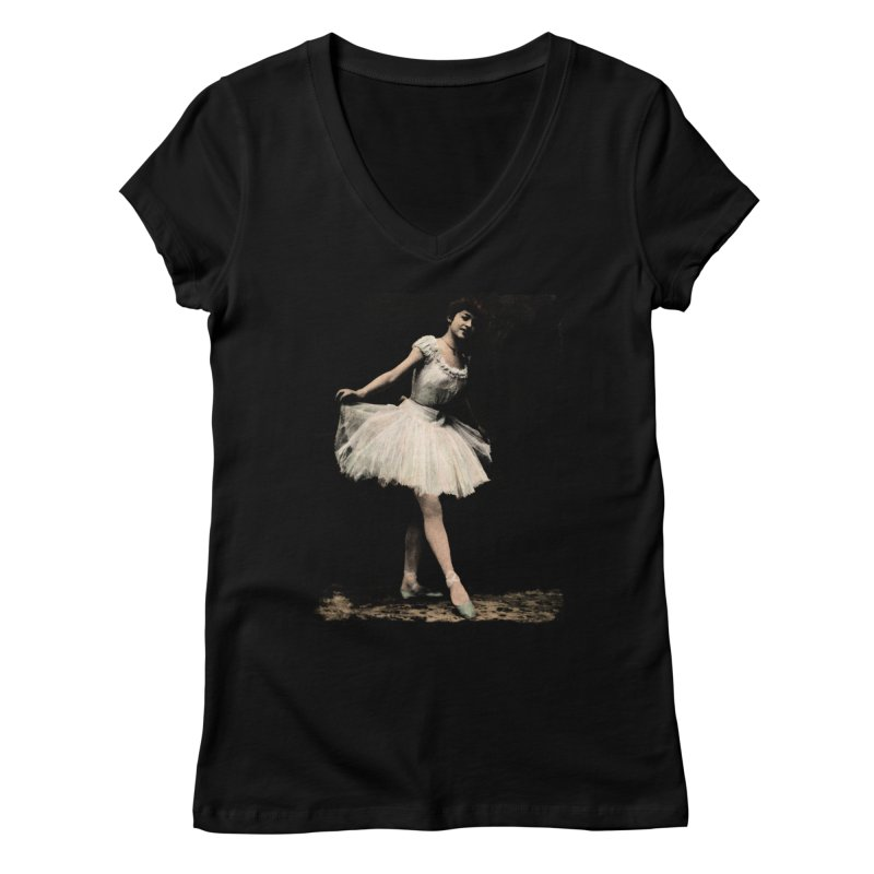 Ballerina Women's V-Neck by Misterdressup