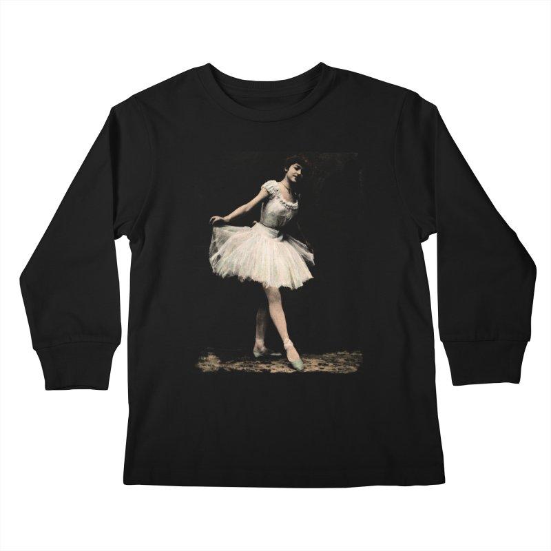 Ballerina Kids Longsleeve T-Shirt by Misterdressup