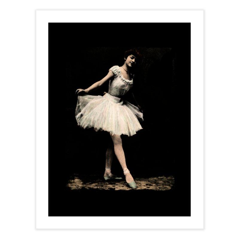 Ballerina Home Fine Art Print by Misterdressup