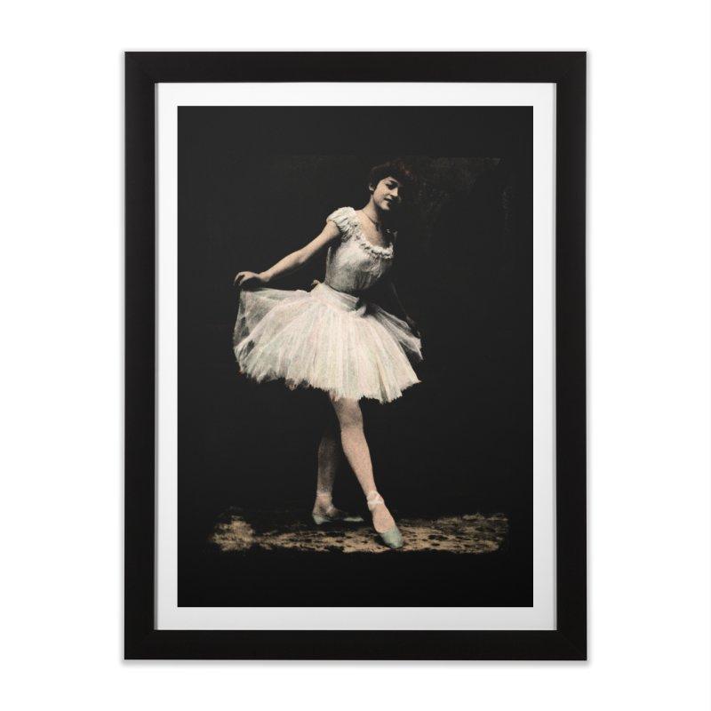 Ballerina Home Framed Fine Art Print by Misterdressup