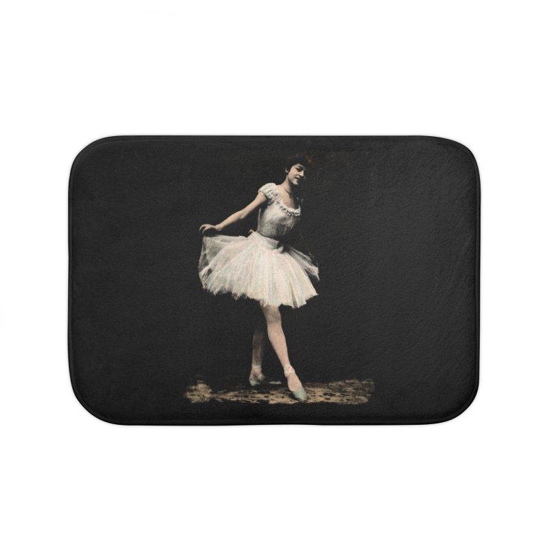 Ballerina Home Bath Mat by Misterdressup