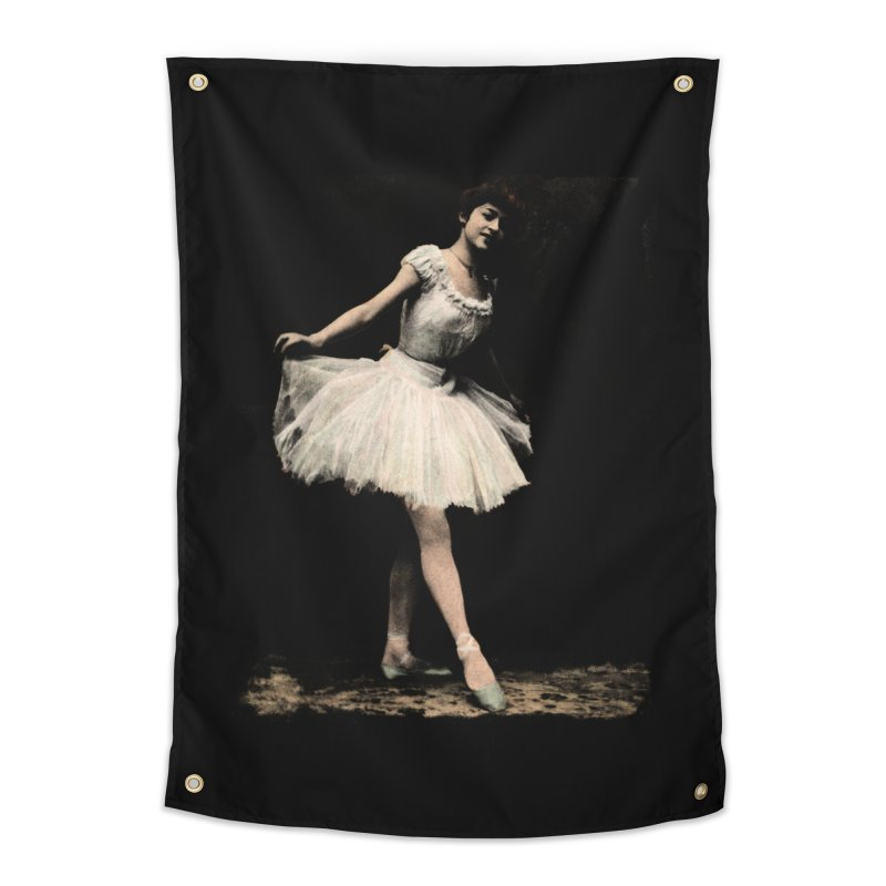 Ballerina Home Tapestry by Misterdressup