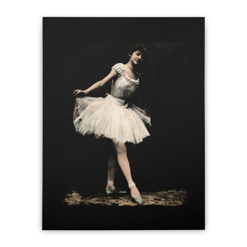 Ballerina Home Stretched Canvas by Misterdressup