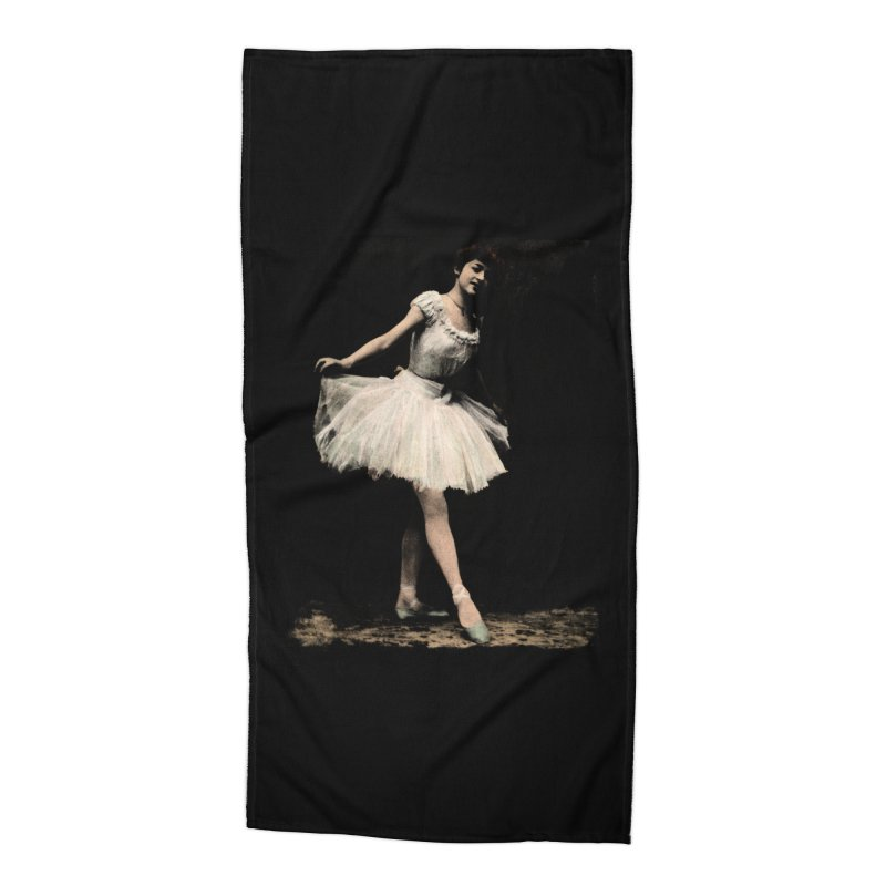 Ballerina Accessories Beach Towel by Misterdressup