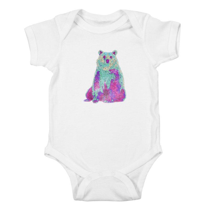 Bear Knit Kids Baby Bodysuit by Misterdressup